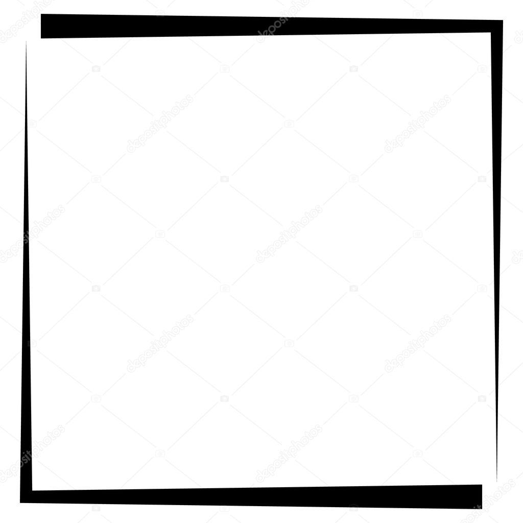 Quadratische Bilderrahmen — Stockvektor © vectorguy #109741470