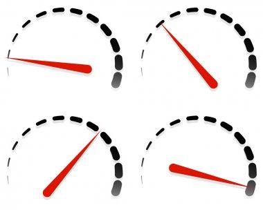 Dial, meter templates