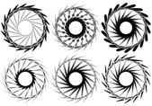 kör alakú geometrikus elemek beállítása