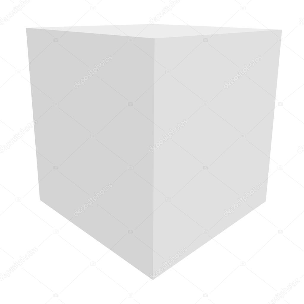 Box  package  cargo  delivery concept icon icon
