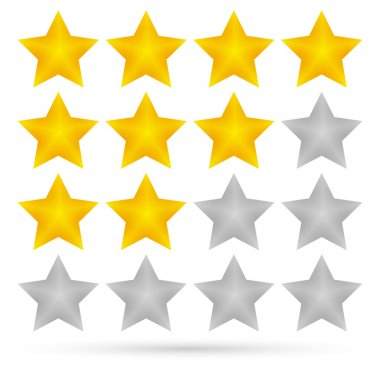 Star rating system (4 stars)