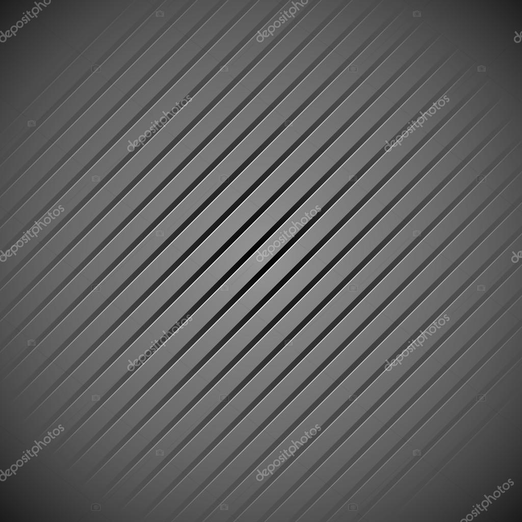 Dark grey background pattern with slanting lines — Stock