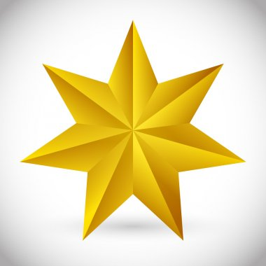 pointed star icon