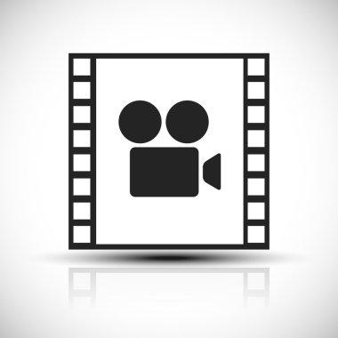 movie, movie production icon