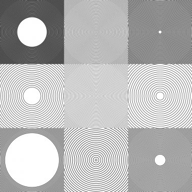 Abstract circle elements, backgrounds.