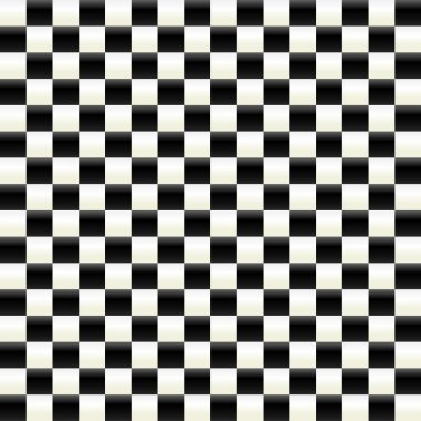 checkered surface pattern