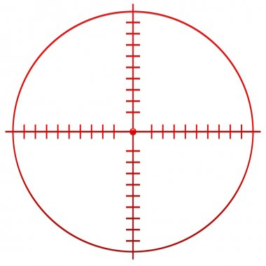 Red Crosshair, reticle