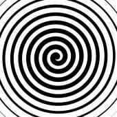 Spirální, spirála, soustředné linky vzor