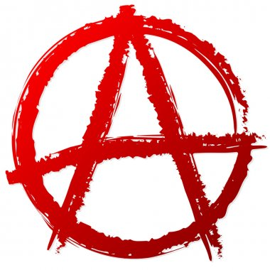 Anarchy symbol or sign