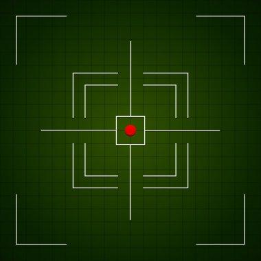 Crosshair viewfinder symbol