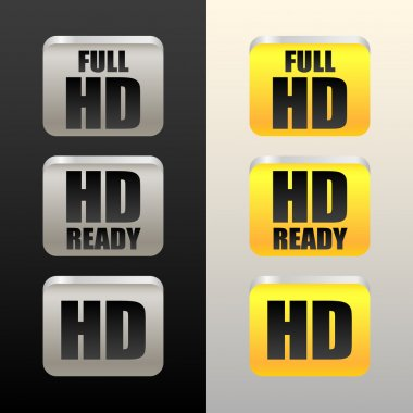 HD - High definition icons
