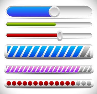 adjusters, preloaders icons set