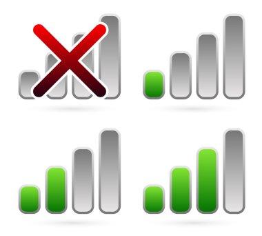 signal strength indicators