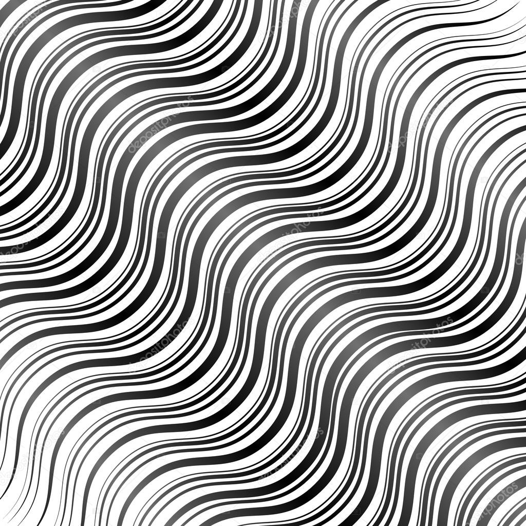 Abstract wavy lines background