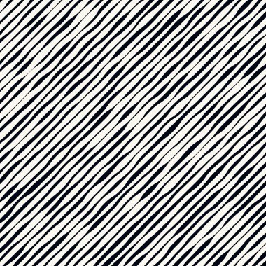 Slanted wavy lines. Modern, minimal vector pattern. vector illustration clip art vector