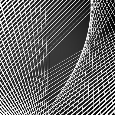 Intersecting lines,  Modern abstract grid