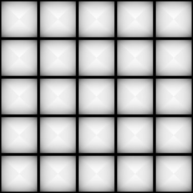Light grey faceted squares pattern