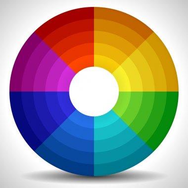 Circular Color Wheel