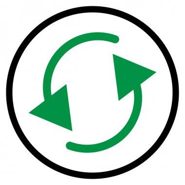 Spinning, rotating arrows