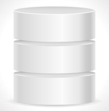 Metal Cylinder. Computer Concepts.