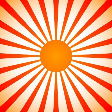 Sun, sunny background.