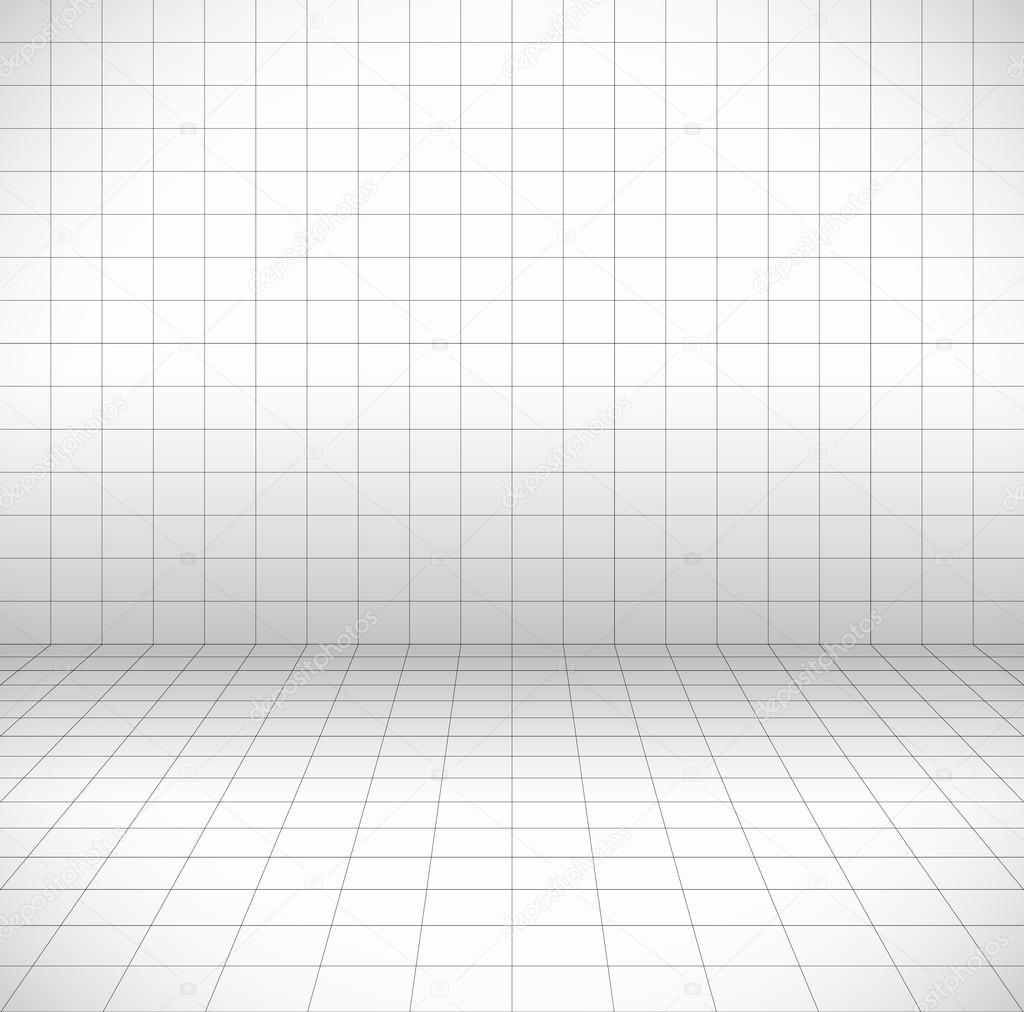 cuadrícula de perspectiva, marco de alambre — Archivo Imágenes ...