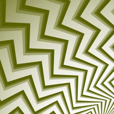 Zigzag shapes abstract background