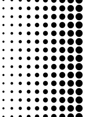 Dotted, dots seamless pattern