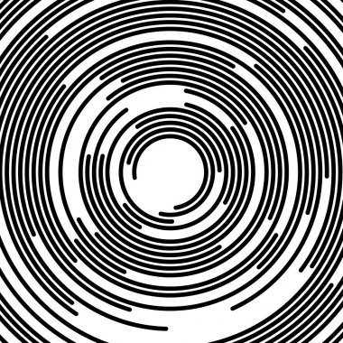 abstract concentric circles background