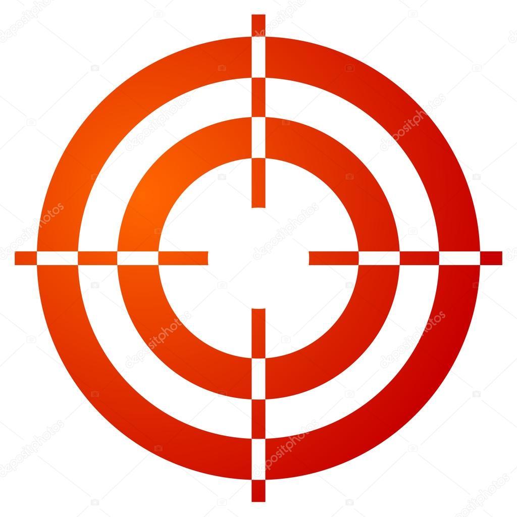 Fadenkreuz Symbol