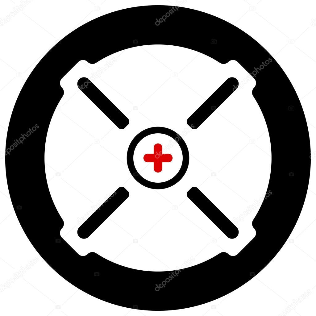 Target mark aim symbol stock vector vectorguy 99036324 target mark aim symbol stock vector buycottarizona Image collections