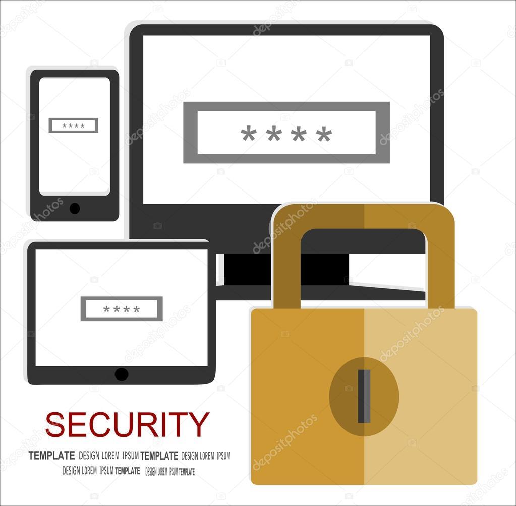 Fönster säkerhetsfönster : Internet security begrepp — Stock vektor #101118904 — Depositphotos