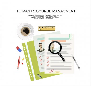 Printed CVs and office accessories