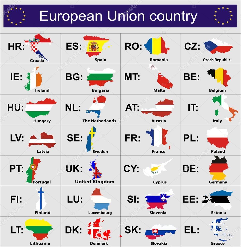 欧州連合国の旗 — ストックベク...