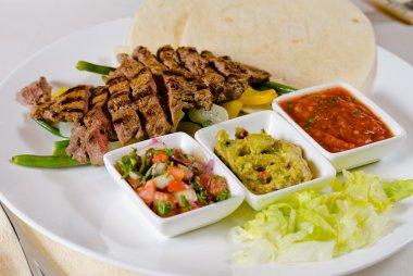 Steak Fajitas on Plate