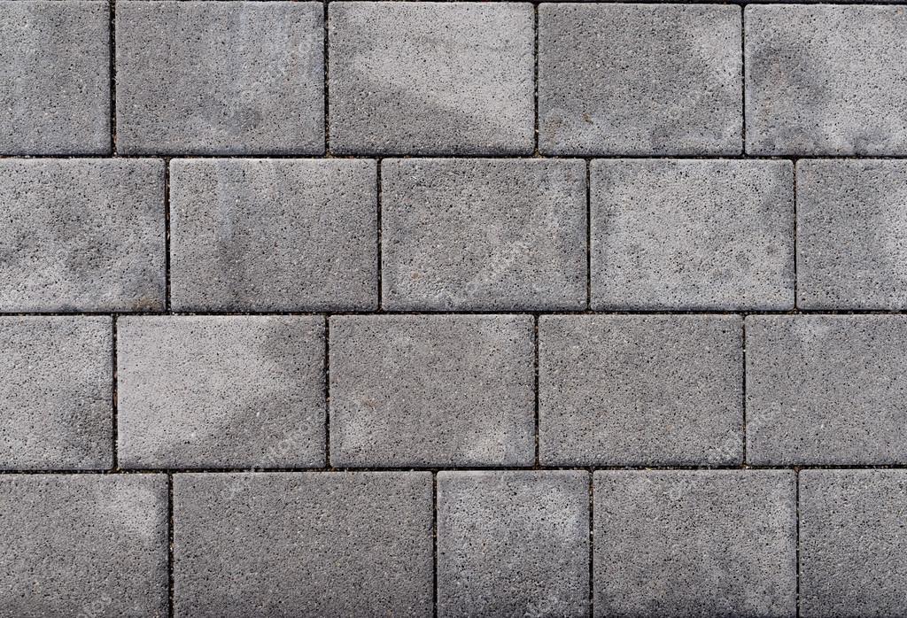 Exterior blanco y el gris hormig n bloquean piso fondo y for Pisos de granito blanco gris