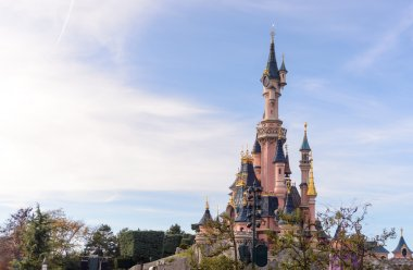 Sleeping Beauty Castle , the symbol of Disneyland Paris