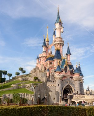 Sleeping Beauty Castle , the symbol of Disneyland Paris