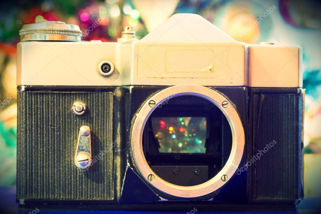 Grunge Camera Effect : Grunge old camera u stock photo artshock