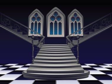 Gothic Stairs Interior