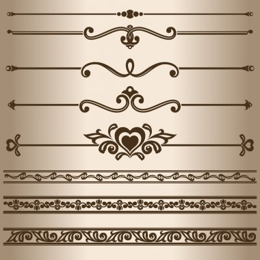 Decorative lines.