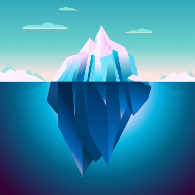 Quarz Iceberg Serenity Lowpoly Dream