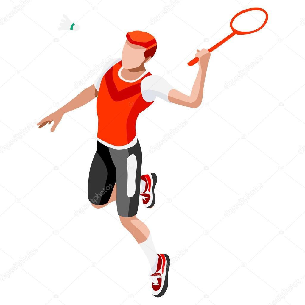 International badminton players