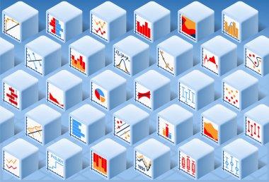 Isometric Stats Element Cube Set