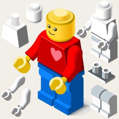 Toy Block Man Games Isometric