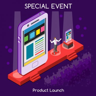Special Event People Isometric
