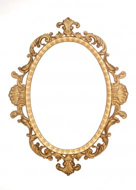 Gold gilt decorative rococo frame