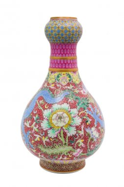 Chinese antique Dragon vase, Museum quality