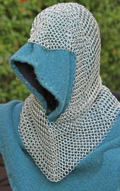 Iron vest and armor of the medieval knight armor