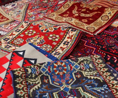 carpets Handmade wool for sale in the shop of fine rugs